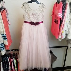 Size 7 Rare Editions Special Occasion Dress